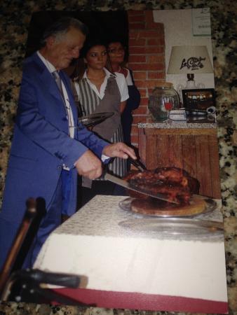 Pergine Valdarno, Itália: Prosciutto alla Fiamma La Nostra Specialità per Cerimonie