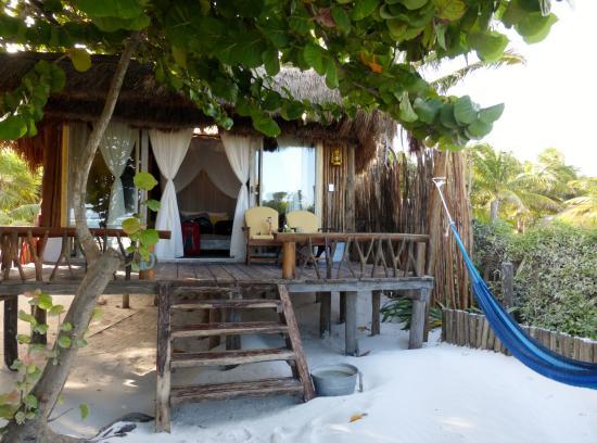Beach bar area picture of villa pescadores tulum tulum for Villas tulum