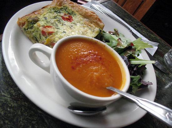 Housatonic, MA: carrot soup