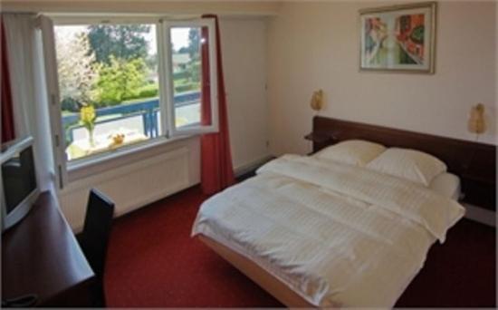 Motel des Pierrettes : Hotel Room