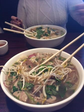 Clinton Township, MI: Beef and Vegetarian Pho