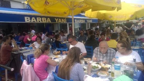 Adalar, Türkiye: Burgazada- Barba Yani Restaurant