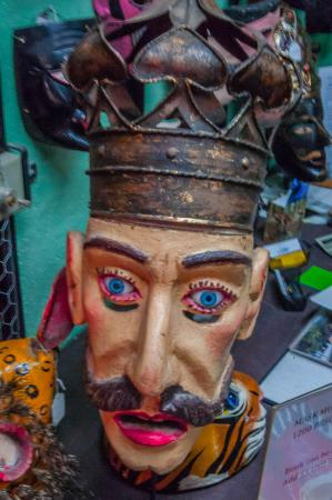 Casa de la Cuesta: pictures from the Another Face of Mexico Mask Museum in San Miguel