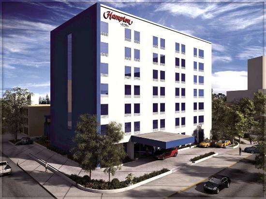 Hampton Inn by Hilton Guadalajara/Expo: Front of the Hotel
