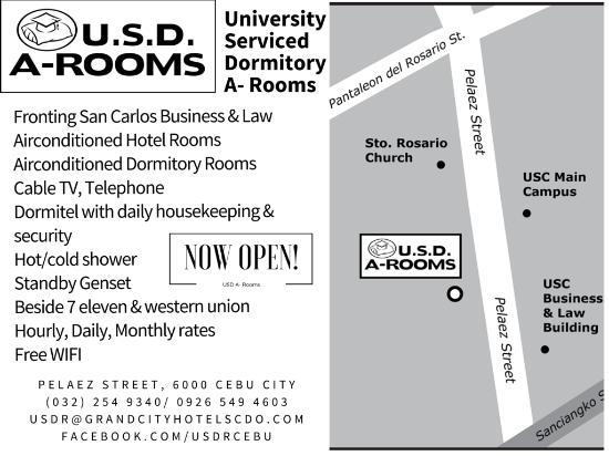 Map Picture of USDA Dormitory Hotel Cebu Island TripAdvisor