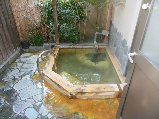 Kappo Ryokan  Sennari: 小さなお風呂は落ち着きます