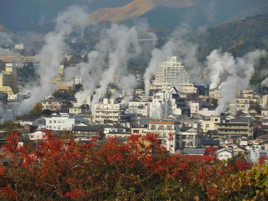 別府:湯けむり展望台から湯けむり - Picture of Yukemuri Observatory, Beppu ...