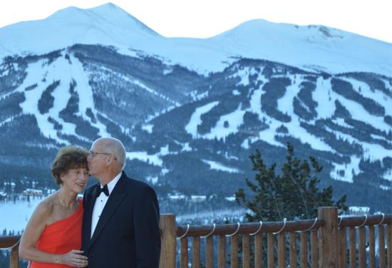 The Lodge at Breckenridge: view from party site