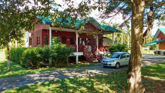 Tenom, Malaysia: One of the chalets
