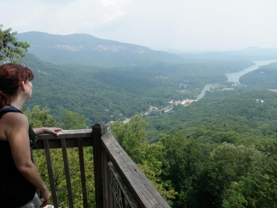 Chimney Rock, NC: Great View