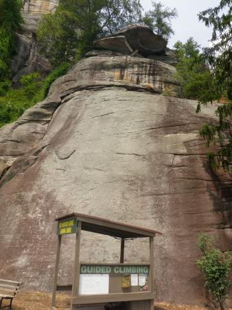 Chimney Rock, NC: Looking Up