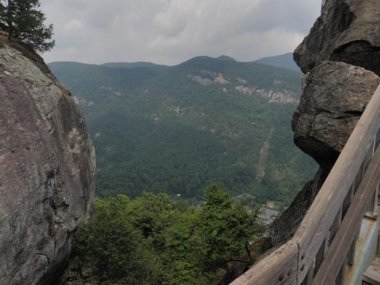 Chimney Rock, NC: Higher and Higher