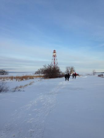 Hecla Island, Canadá: Afternoon walk to the Lighthouse