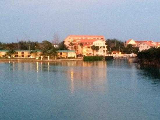 Pelican Bay at Lucaya: View from our private balcony