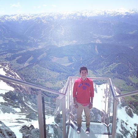 Dachstein Gletscher 2996m Bild Von Dachstein Suspension Bridge
