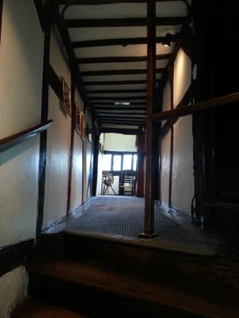 Bolton, UK : Upstairs Hallway - Crooked