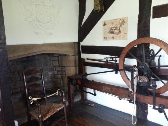 Bolton, UK: Crompton's Spinning Mule