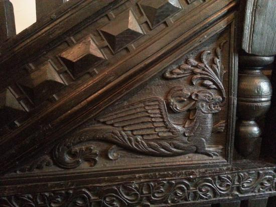 Bolton, UK : Dragon In Main Entry Staircase