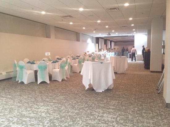 Clarion Hotel Winnipeg: Manitoba & Saskatchewan room all set up for a big event !
