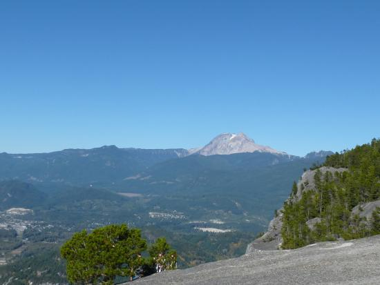 Squamish, Canada: I nice view towards Whistker
