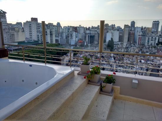 Urban Suites Recoleta Boutique Hotel: JACUZZI