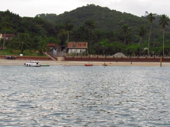Ilha dos Frades : isla dos frailes