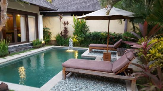 1 Bedroom Villa Pool Area Picture Of The Sanyas Suite Seminyak Seminyak Tripadvisor