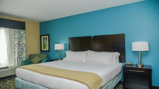 King Guest Room at Holiday Inn Express & Suites Cuero TX