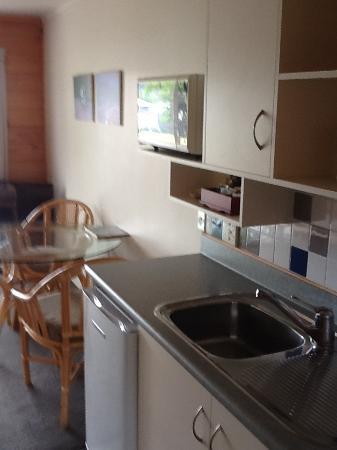 Pauanui, Nowa Zelandia: Kitchen area