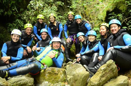 Queenstown, Nowa Zelandia: group picture