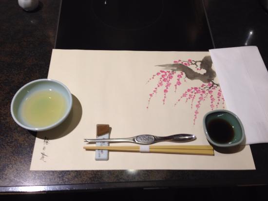 Kanishige Honatsugiten : コース料理用セット