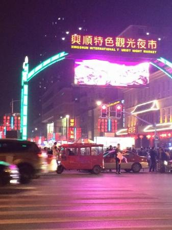 Shenyang, Cina: Xingshun International Tourist Night Market