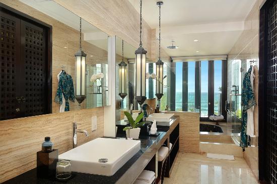 The Seminyak Beach Resort Spa Suite Ocean Side Bathroom