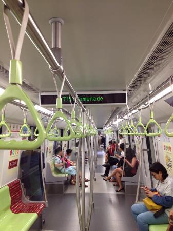 Singapore Mass Rapid Transit  (SMRT): Interior