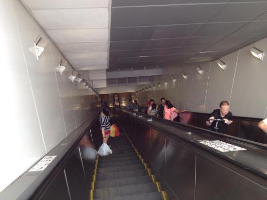 Singapore Mass Rapid Transit  (SMRT): A loooooooong escalator