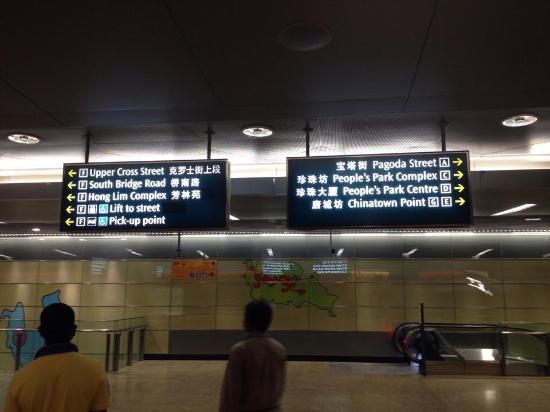 Singapore Mass Rapid Transit  (SMRT): Directions