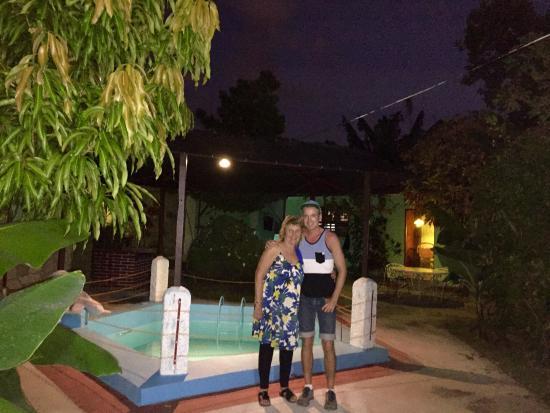 San Carlos Hostal: Gretchen & Erik