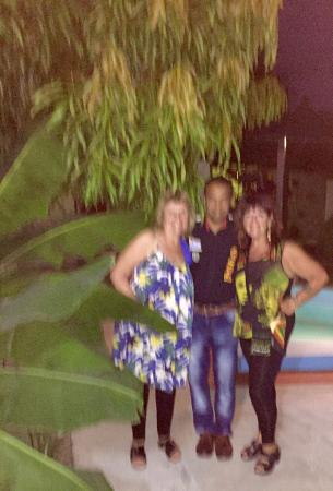 San Carlos Hostal: Gretchen, Jorge JR and G