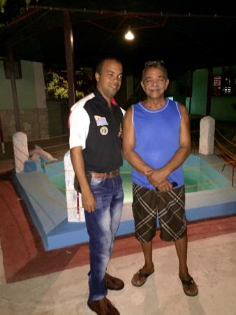 San Carlos Hostal: Jorge and Jorge JR