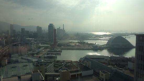Manyo Onsen: 屋上からの眺め