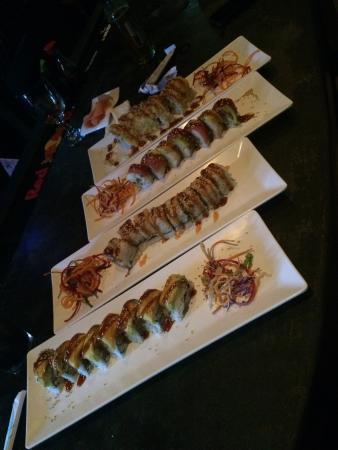 Tsunami Sushi Jaco Walk: Delicioso 😋