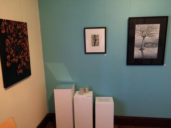 Fairview ArtSpace: Look in every room!