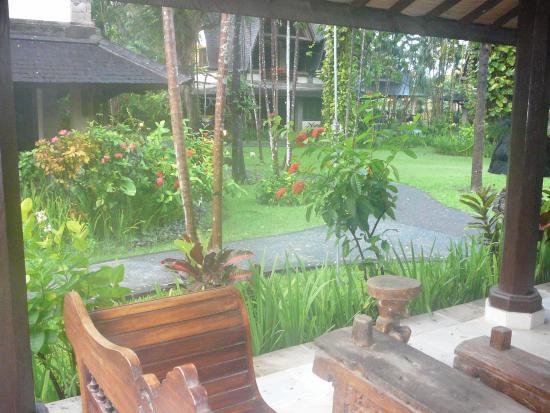 Hotel Vila Lumbung: From the verandah of our villa