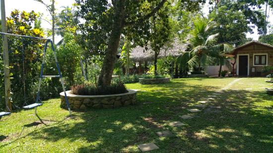 Gonagala, Sri Lanka: Weg zum Cottage Nr. 2