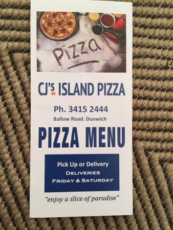‪CJ's Island Pizza‬