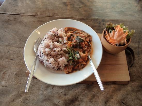 healthy food at lancatlgue cafe 日光市 ランカトルグカフェ日光の