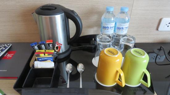 Park Inn By Radisson Davao Coffee Tea Set Up