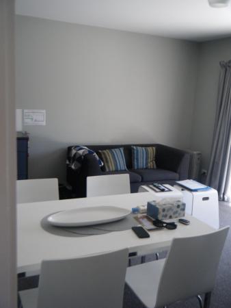 Arrowtown, Nowa Zelandia: Dining/lounge area