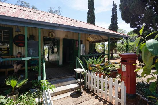 Bulawayo Railway Museum: The Old Shamva Town Railway Office, now the Museum entrance.