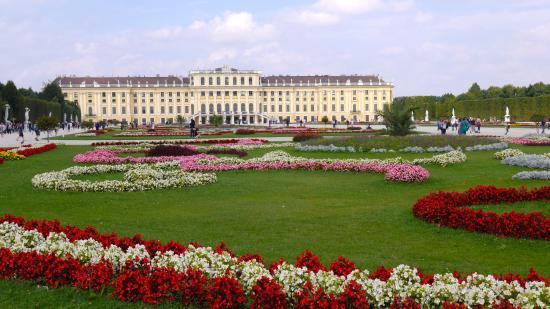 Wiedeń, Austria: Schönbrunn